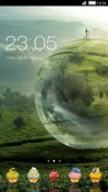 Globe CLauncher Android Mobile Phone Theme