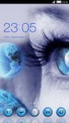 Blue Eye CLauncher Android Mobile Phone Theme