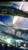 Fantasy World CLauncher Android Mobile Phone Theme