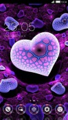 Purple Heart CLauncher Android Mobile Phone Theme