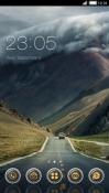 Highway CLauncher Samsung Galaxy Rush M830 Theme