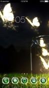 Butterflies CLauncher Samsung Galaxy Rush M830 Theme