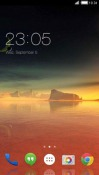 Beautiful Sunset CLauncher Android Mobile Phone Theme