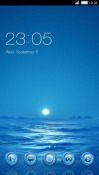 Sea CLauncher Android Mobile Phone Theme