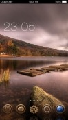 Cloudy CLauncher Android Mobile Phone Theme