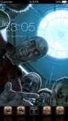Zombies CLauncher Samsung Galaxy Rush M830 Theme