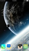 Planet CLauncher Android Mobile Phone Theme