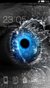 Blue Eyed CLauncher Android Mobile Phone Theme