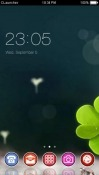 Plant CLauncher Android Mobile Phone Theme