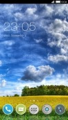 Scenery CLauncher Lava A77 Theme