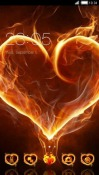 Love Heat CLauncher Android Mobile Phone Theme