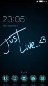Just Live CLauncher Android Mobile Phone Theme