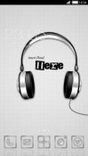 Headphones CLauncher Android Mobile Phone Theme