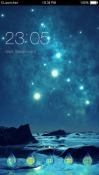 Shinning Stars CLauncher Android Mobile Phone Theme