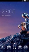 Wall-E CLauncher Android Mobile Phone Theme