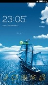 Ship CLauncher Android Mobile Phone Theme