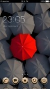 Umbrella CLauncher Android Mobile Phone Theme