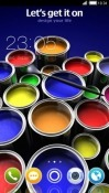 Paint CLauncher Android Mobile Phone Theme
