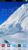 Mountain Snow CLauncher Android Mobile Phone Theme
