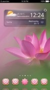 Lotus CLauncher Android Mobile Phone Theme