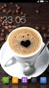 Coffee Love CLauncher Android Mobile Phone Theme