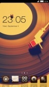 Vintage Record CLauncher Android Mobile Phone Theme