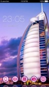 Burj Al Arab CLauncher Android Mobile Phone Theme