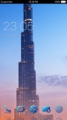 Burj Khalifa CLauncher Android Mobile Phone Theme