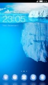 Iceberg CLauncher Android Mobile Phone Theme