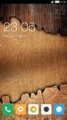 Wood CLauncher Android Mobile Phone Theme
