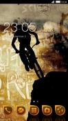 Cycling CLauncher Android Mobile Phone Theme