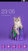 Cute Cat CLauncher Android Mobile Phone Theme