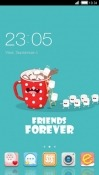 Friends Forever CLauncher Android Mobile Phone Theme