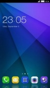 Blue Design CLauncher Android Mobile Phone Theme
