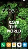 Save World CLauncher Android Mobile Phone Theme