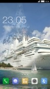 Cruise Ship CLauncher Android Mobile Phone Theme