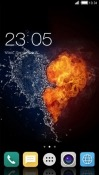 Heart CLauncher Android Mobile Phone Theme