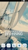 Sailing CLauncher Android Mobile Phone Theme