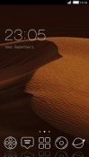 Desert CLauncher Android Mobile Phone Theme