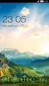 Nature CLauncher Android Mobile Phone Theme