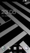 Black & White CLauncher Android Mobile Phone Theme