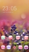 Black Berries CLauncher Android Mobile Phone Theme