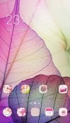 Leaves CLauncher Android Mobile Phone Theme