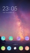 Night Sky CLauncher Android Mobile Phone Theme
