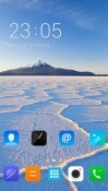 White Sand CLauncher Android Mobile Phone Theme