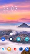 Landscape CLauncher Android Mobile Phone Theme