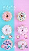Donuts CLauncher Android Mobile Phone Theme