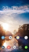 Lake CLauncher Android Mobile Phone Theme