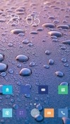 Water Drops CLauncher Android Mobile Phone Theme