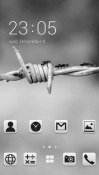 Wire CLauncher Android Mobile Phone Theme